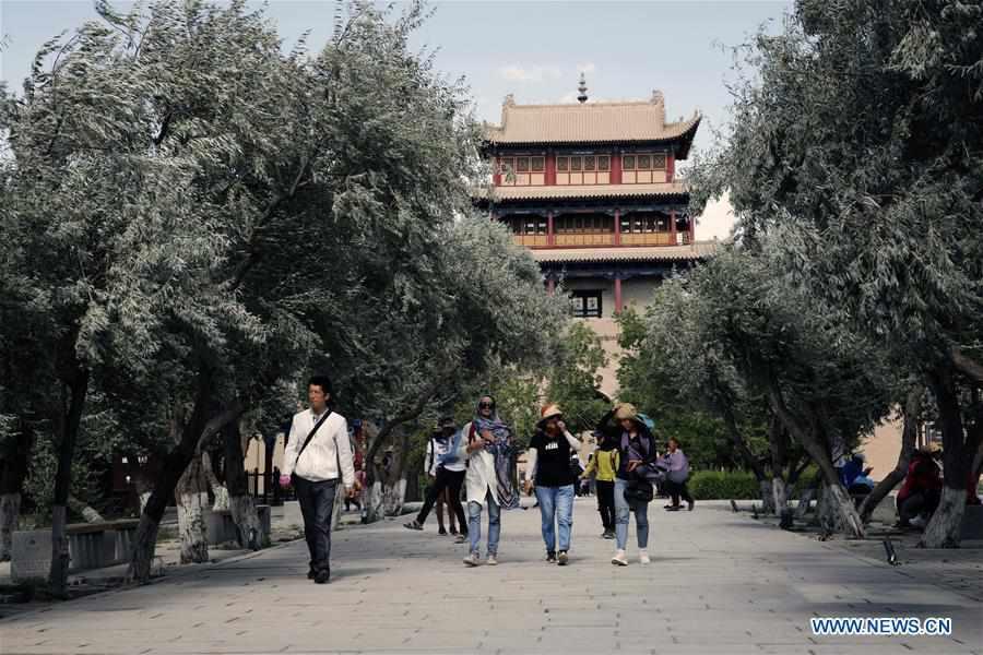 CHINA-GANSU-JIAYUGUAN-TOURISM (CN)