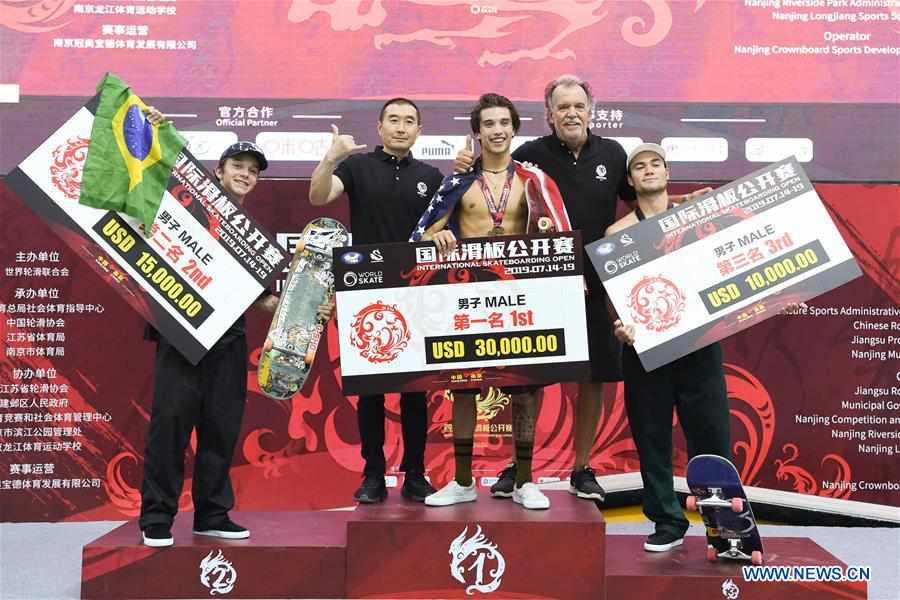 (SP)CHINA-NANJING-INTERNATIONAL SKATEBOARDING OPEN-FINAL