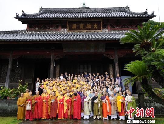 福建黄檗文化社团赴日参访牵起中日共同历史文化记忆