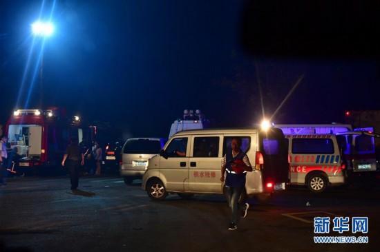 (突发事件后续)(1)河南义马气化厂爆炸事故已致10人死亡5人失联