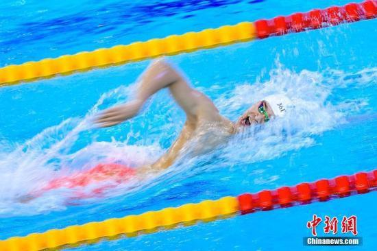 """孙杨""""首秀""""光州世锦赛轻松晋级400米自由泳决赛"""