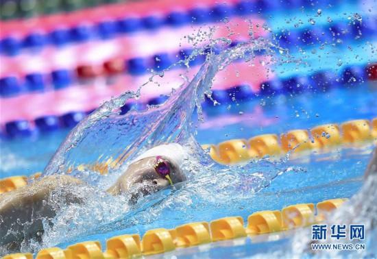 (游泳世锦赛)(47)男子400米自由泳决赛:孙杨夺冠