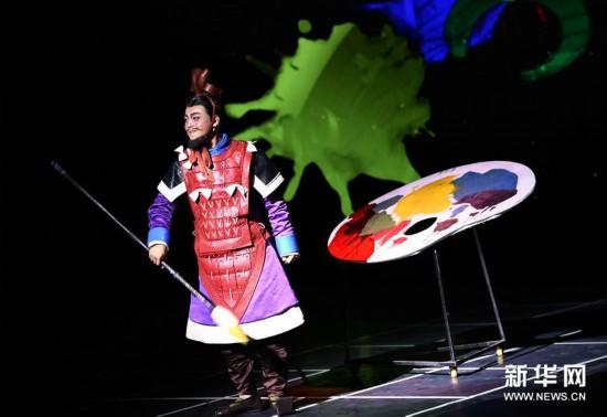 (文化)(5)博物院上演秦俑主题儿童剧