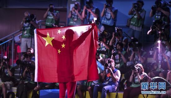 (游泳世锦赛)(58)男子400米自由泳决赛:孙杨夺冠