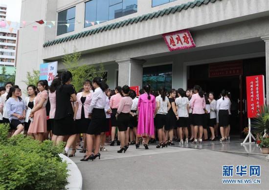 朝鮮舉行第19屆地方人民會議議員選舉(組圖)圖片