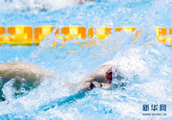 (游泳世锦赛)(16)男子400米自由泳决赛:孙杨夺冠