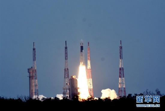 """(國際)(1)印度成功發射""""月船2號""""月球探測器"""