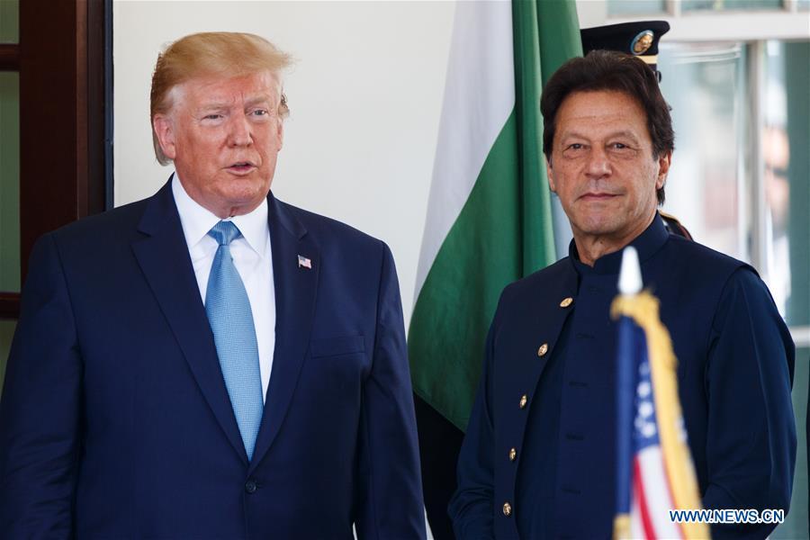 U.S.-WASHINGTON D.C.-PAKISTANI PM-MEETING