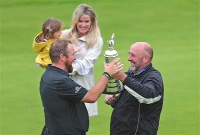 高球英国公开赛新冠肖恩·劳瑞用冠军庆祝父亲60大寿