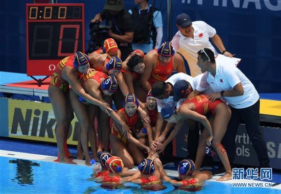 (游泳世锦赛)(1)水球――中国女队不敌加拿大女队