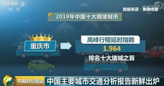 中國堵城排行榜:重慶市排名十大堵城之首