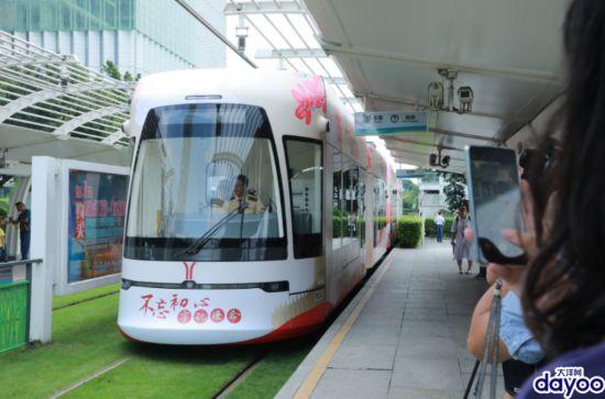 """""""不忘初心""""主题列车在广州首发"""