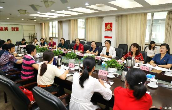 自治区妇联召开主题教育征求意见座谈会