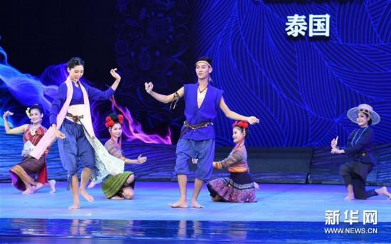 (文化)(3)《絲路放歌》展演在云南楚雄舉行