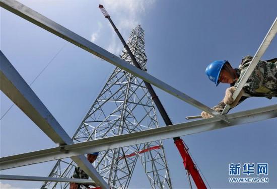 (经济)(1)张北至雄安1000千伏特高压交流输变电工程加紧施工