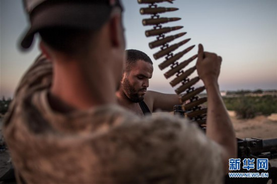 (国际)(1)利比亚战事持续
