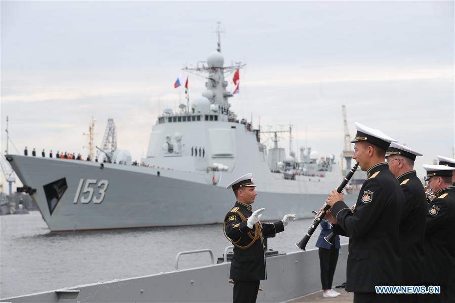 RUSSIA-ST. PETERSBURG-CHINESE NAVY-VISIT