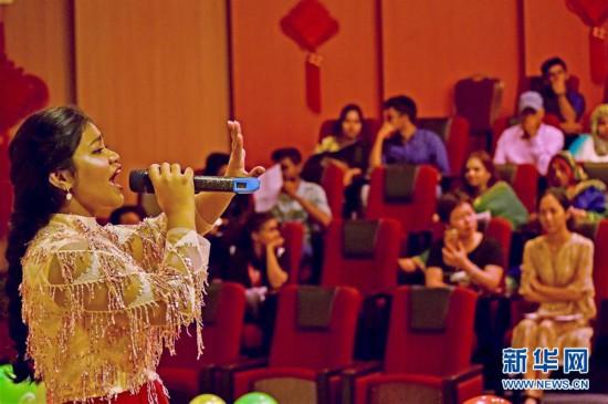 """(图文互动)(1)第12届""""汉语桥""""中学生中文竞赛孟加拉国预选赛成功举行"""