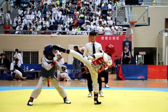 2019年宁夏大众跆拳道联赛(贺兰站)举行