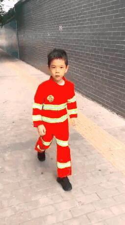长大后我就成了你!杜江这样满足嗯哼的消防梦