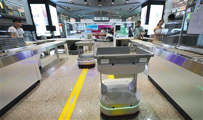 首都机场启用高效通道旅客安检用时至少节省30秒
