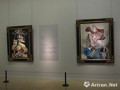 中国美术馆毕加索作品展览现场