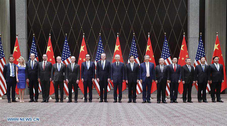 CHINA-SHANGHAI-U.S.-TRADE CONSULTATIONS (CN)
