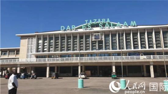 坦赞铁路起点坦桑尼亚达累斯萨拉姆火车站 (摄影:万宇)