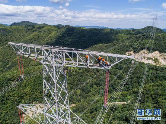 寧波余姚500千伏天河線輸電線路開啟緊急檢修