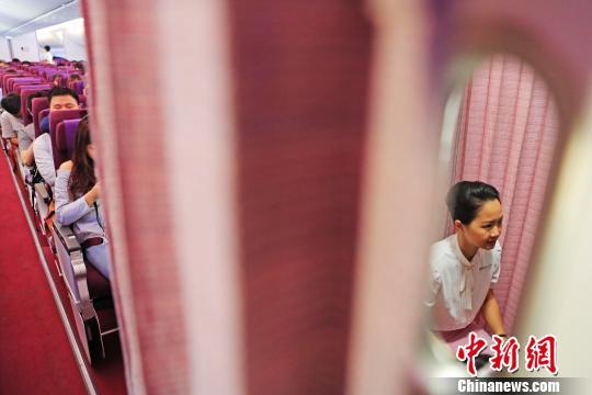 """""""90后""""台北女孩在上海當乘務員:生活新鮮而有趣"""