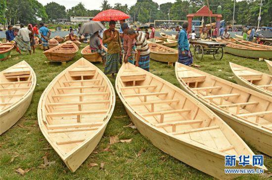 (新華視界)(1)孟加拉國的船隻市場
