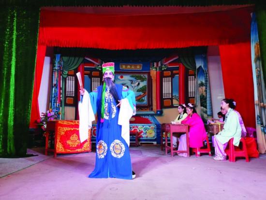 惠东大墩白字戏传唱上百年