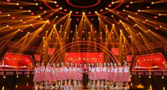 """""""为祖国放歌 唱响七十华诞""""国庆特别节目电视晚会满意录制"""