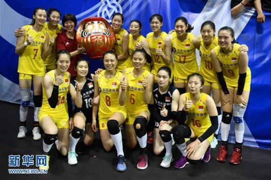(体育)(1)排球――中国女排挺进东京奥运会