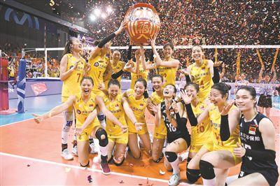 中国女排斩获奥运入场券