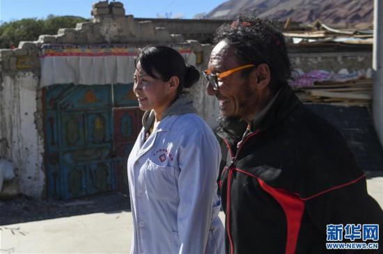 (社会)(3)嘎宗卓玛:多玛乡的健康守护天使