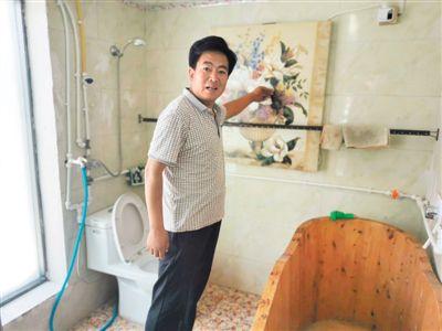 """""""厕所革命"""":按下农村""""美颜键"""""""