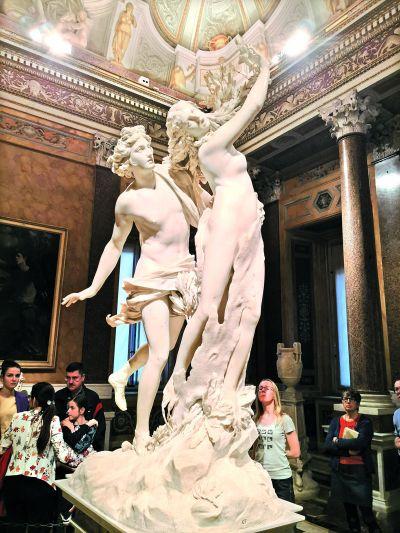 罗马博尔盖塞美术馆印象