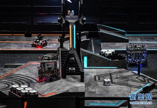 (科技)(3)機甲大師賽總決賽拉開帷幕