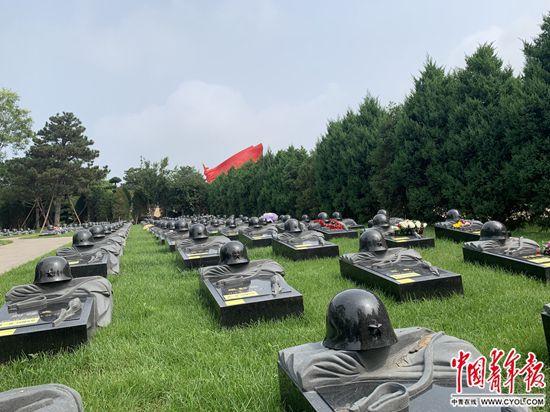 八宝山革命公墓烈士纪念园落成开放