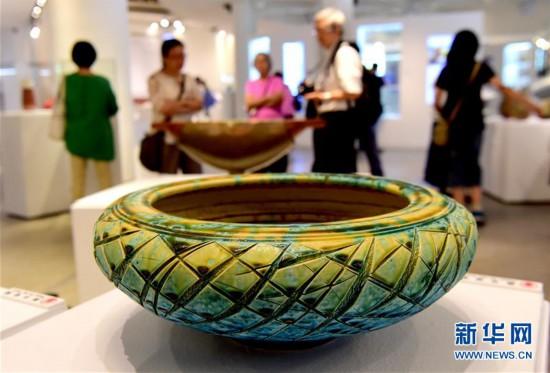 (文化)(1)彩票微信群怎么总封群,台湾陶艺双年展开展