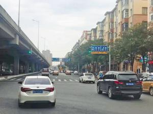 哈尔滨公滨路红旗大街取消转盘道