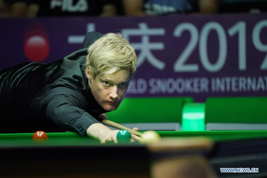 In pics: 2019 World Snooker Int'l Championship