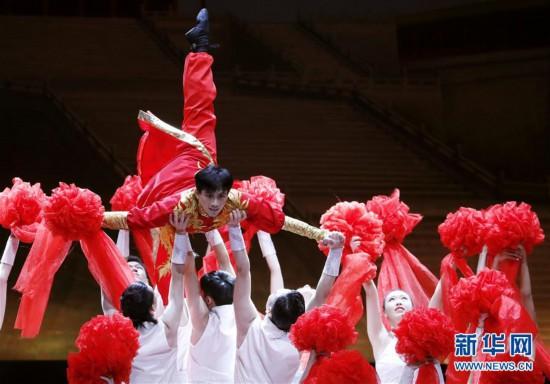 """(文化)(5)上海:公益展演""""舞出中国风"""""""