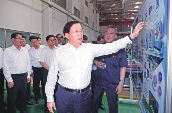 王忠林到企业调研时强调 加大支持力度解决实际问题 推动济南老工业品牌再创新辉煌