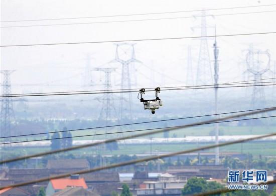 (科技)(6)浙江宁波建成电网智能巡检示范区
