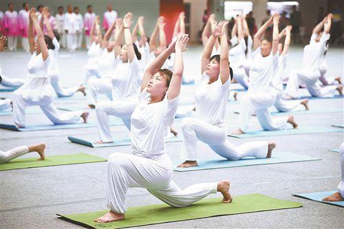 全民健身日徐州开展活动 丰富群众体育生活