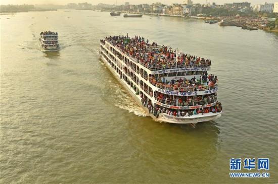 (国际)(1)孟加拉国迎来节日返乡潮