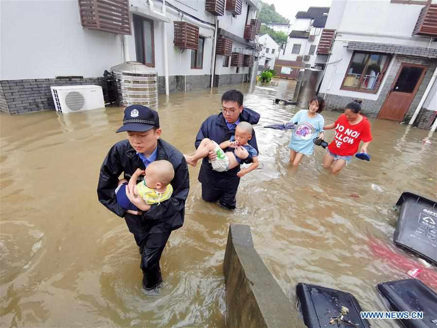 30 dead after Typhoon Lekima sweeps through east China
