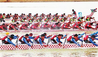 32支队伍参加平南国际龙舟赛